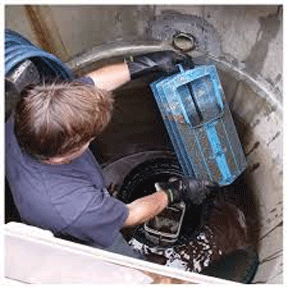 Septic Tank Effluent Filter Cleaning